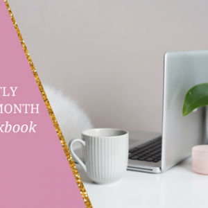 YOUR PERFECTLY PLANNED MONTH // + FREE WORKBOOK