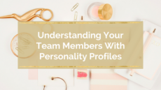 UNDERSTANDING YOUR TEAM MEMBERS WITH PERSONALITY PROFILES