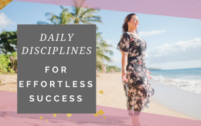 DAILY DISCIPLINES FOR EFFORTLESS SUCCESS