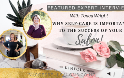 Featured Expert Interview // Terica Wright – Why Self-Care Is Important To The Success Of Your Salon