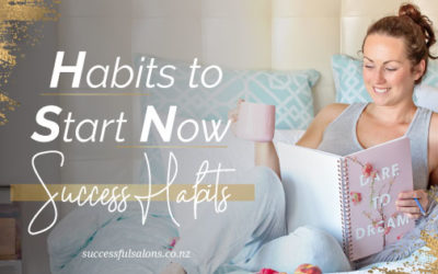 HABITS TO START NOW | SUCCESS HABITS